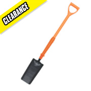 Spear and Jackson Insulated Treaded Cable Laying Shovel